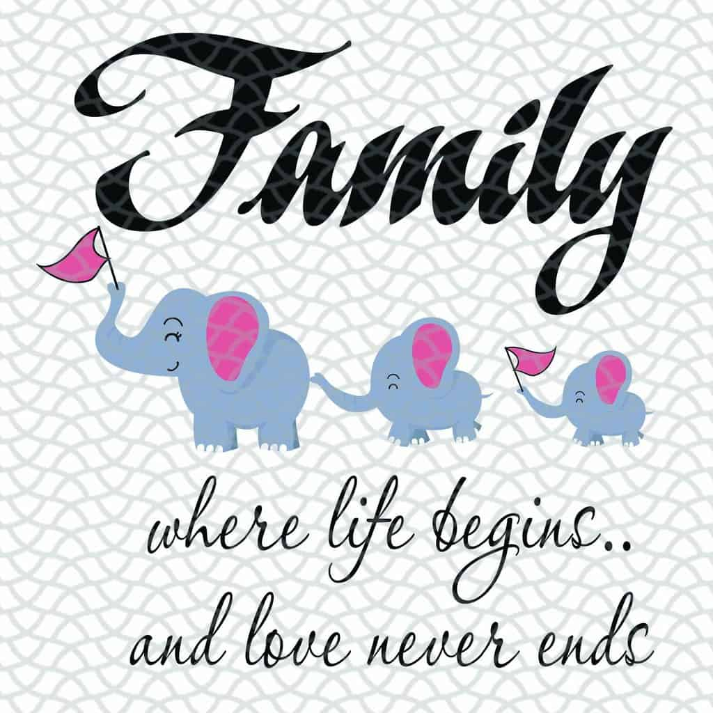 Family Where Life Begins And Love Never Ends Svg, Family Life Svg, Family, Mothers Day Svg, Fathers Day Svg, Gift For Mom, Gigi, Mommy, Nana Svg, Mom Life Svg, Files For Silhouette, Files For Cricut, SVG, DXF, EPS, PNG, Instant Download